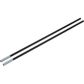 CAMPZ Glasfaserstab mit Hülse 13mm/0,65m schwarz